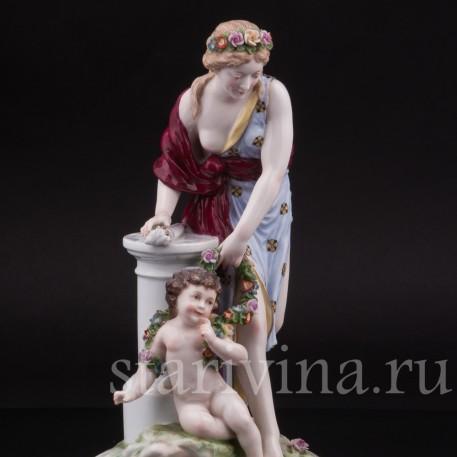 Фарфоровая статуэтка Венера и Купидон Karl Ens, Германия, 1900 гг.